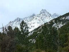 Punta di Monte Sordu (?) depuis le sentier de Mela/Sainte-Lucie