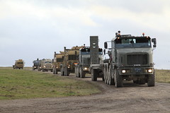 ARMY CONVOY (John Ambler) Tags: training truck army exercise area salisbury british dagger plain convoy pashtun salisburyplaintrainingarea