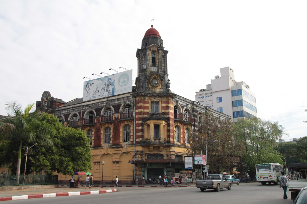 British Colonial Building, Yangon