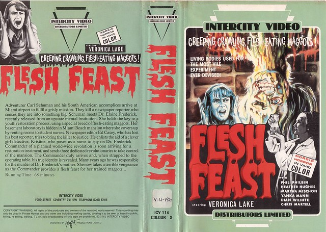 Flesh Feast (VHS Box Art)