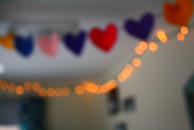 hearts + lights