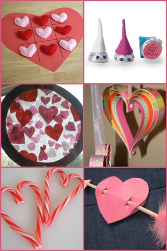Easy Valentines Crafts Roundup