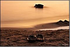 (claxd) Tags: sunset canon interestingness topf75 tramonto estate faves topf100 salento topf200 topv100 paesaggio bestshot portocesareo lungaesposizione 1000faves bestflickr canon1000d