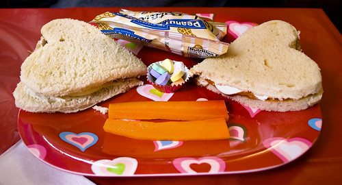 Valentine's Day Peanut Butter Sammies