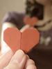 {19/365} Amourigami (Kap-) Tags: canada reflection love paper mirror origami heart coeur reflet québec 365 miroir papier valentinesday amur g11 saintvalentin