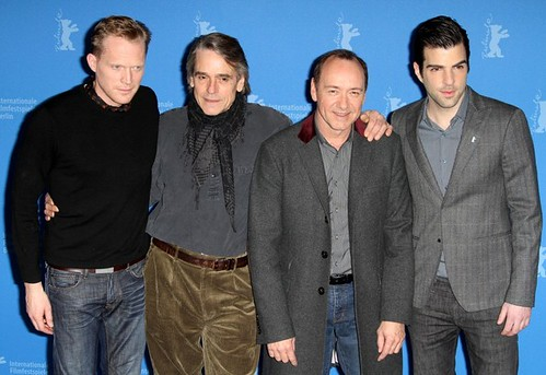Paul Bettany, Jeremy Irons, Kevin Spacey and Zachary Quinto