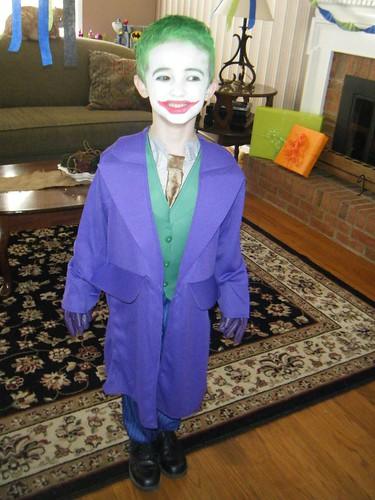 The Joker at his birthday party 3