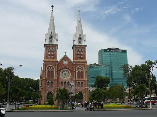 Saigon Notre Dame Cathedral, Ho Chi Minh, Vietnam