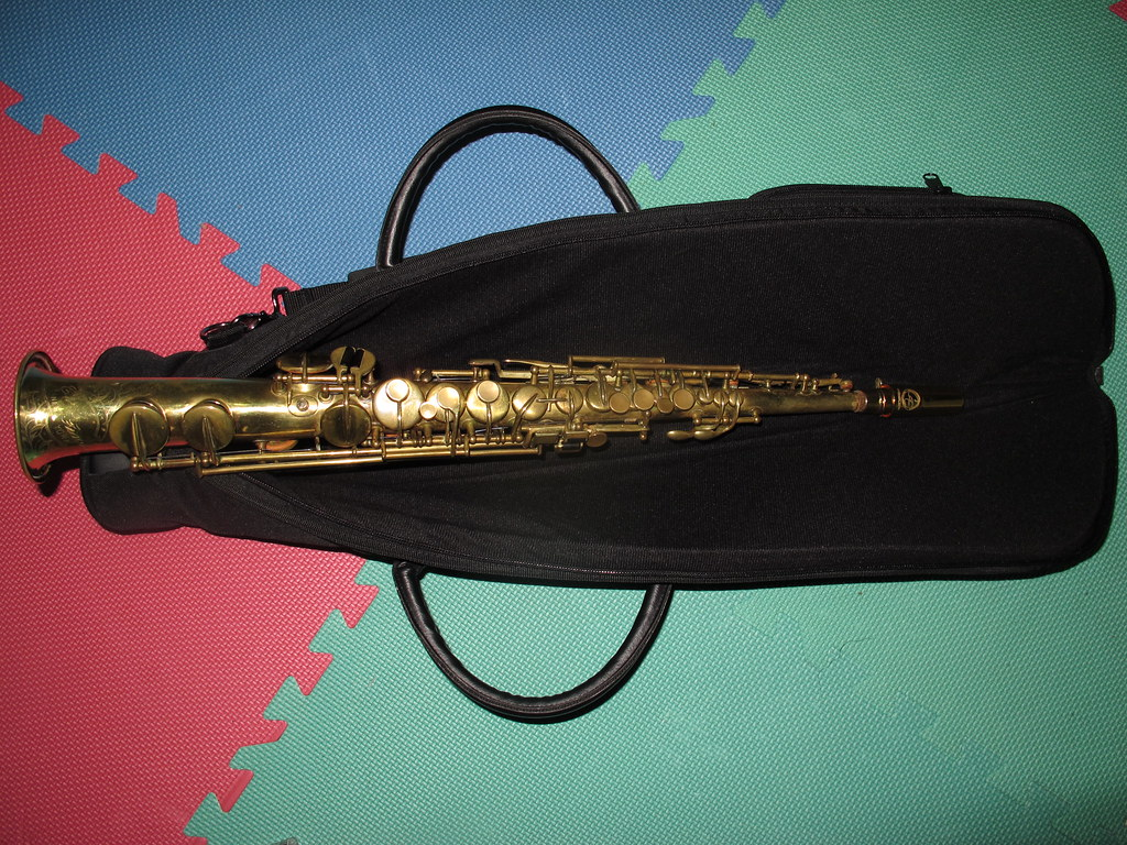 C Soprano Sax - 1924 Carl Fischer NY by Buescher