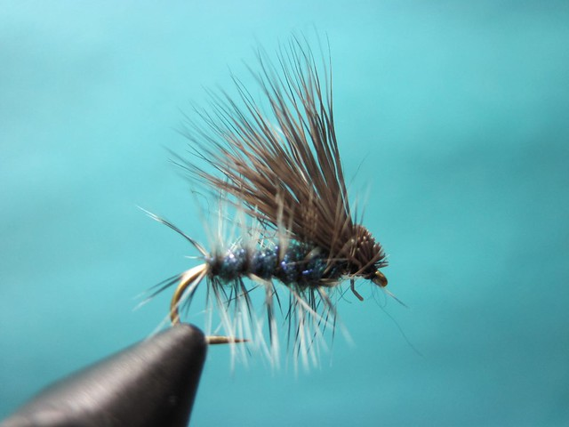 Ice dub elk hair caddis