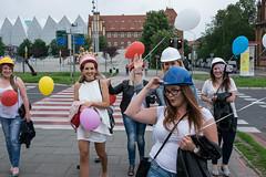 Kolorowe dziewczyny w Szczecinie - Color Girls in Stettin, Poland. (TomasLudwik) Tags: kolorowe dziewczyny color girls street szczecin