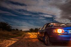 My little car (t0ky) Tags: mx5 mazda miata hungary nightsky starrynight