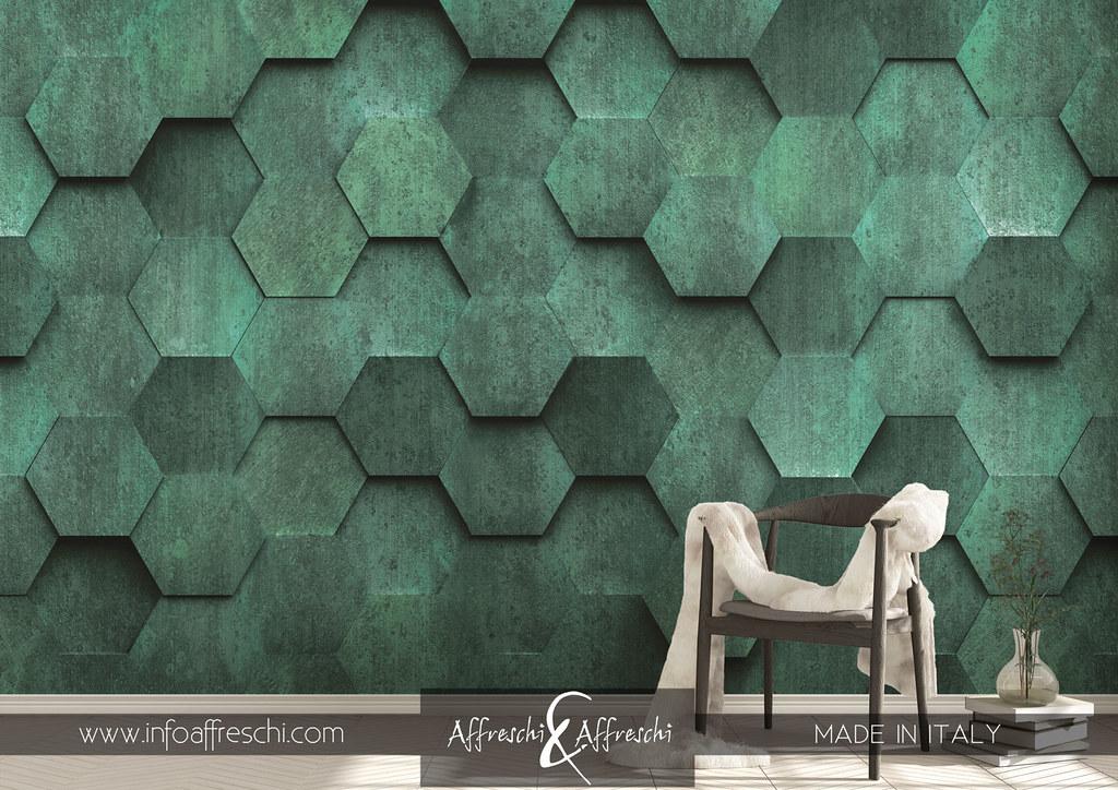 32 (Affreschiu0026amp;Affreschi) Tags: Walldecoration Mural Interiors Wallart  Walldesign Walls Cladding Revestimento