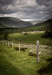 Hillside Farmhouse (Neillwphoto) Tags: glenesk fence house hills