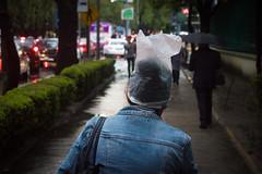 10 - Huyendo a casa bajo la lluuvia - 14Jun17 (oemilio16) Tags: cdmx ciudad de méxico lluvia rain raining canon umbrella paraguas sombrilla agua street calle streetphotography lloviendo t6 1300d kissx80 city df