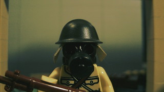 Lego Japanese Soldier With Gasmask