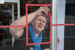 Chris_venstertekenen_DSC_0260 (Chris Perdieus) Tags: chrisper kruisstraat niels fietsenwinkel venstertekenen venstertekening