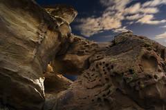 erosión (Luis_Garriga) Tags: rocas piedras geoformas parque ischigualasto sanjuan argentina noche longexposure erosion desierto sedimentos fósiles triásico petrificados valledelaluna paisaje paisajelunar