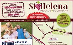 Lot 109 St Helena, Lochinvar NSW