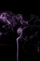 Purple Haze (Emir Cykman) Tags: fotografía photography photographie 50mm 50mmlens flash yongnuovi speedlight dark oscuro negro purplehaze sahumerio incienso incense encens humo smoke fumée burning