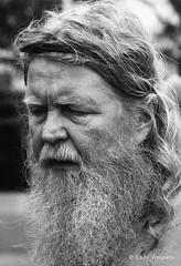 Don't make that mistake. (wouters.eddy) Tags: monochrome black white portrait viking lagertha sweden scandinavia history foteviken nikon