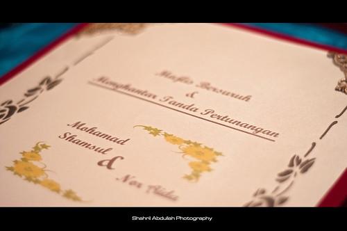 Majlis Pertunangan Shamsul & Nor Aida