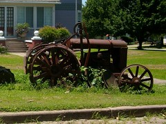Rusty Relics (proudnamvet........Patriot Guard Riders) Tags: tractor rust rusty rake hay agriculture relics baler tirediron