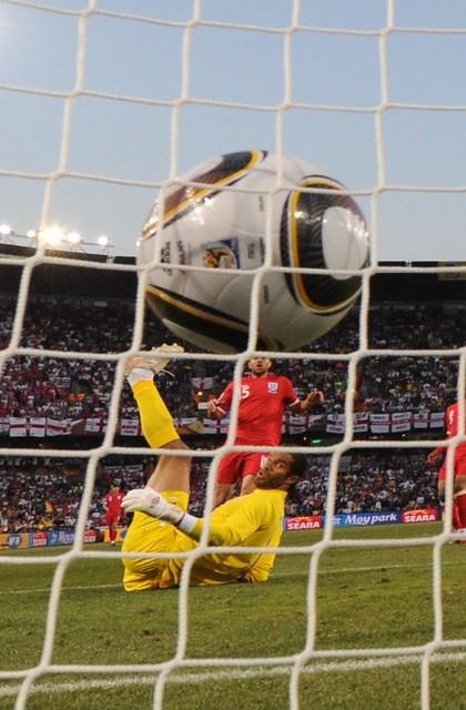 David James Alemania Inglaterra Mundial Fútbol Sudáfrica