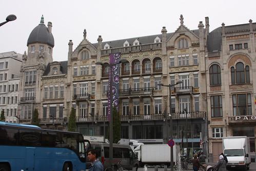 Koningin Astridplein. Antwerp.