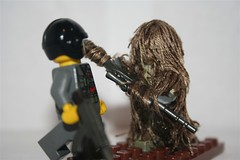 Project Ghillie: Part 1 (Scorch199) Tags: lego minifig cod callofduty ghilliesuit macmillian brickarms scorch199