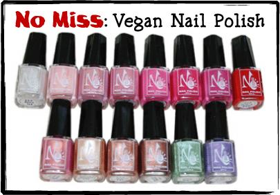 Vegan Make-Up: Nail Polish