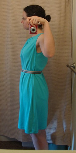 New Look 6922 in aqua blue