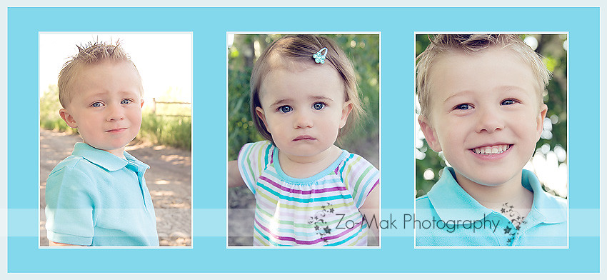 grandkids collage