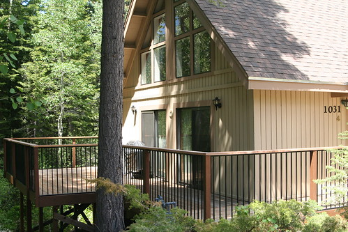 Cabin with New Deck