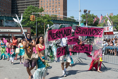 Mermaid Survivors of the BP Oil Spill