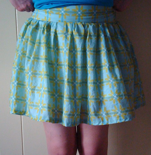 SMS skirt front
