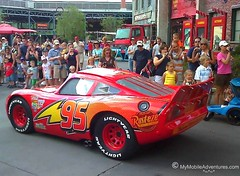 Lightning McQueen at Disney's Hollywood Studios