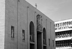 Basilica San Giovanni Bosco - facciata (bruno brunelli) Tags: italy rome roma san italia basilica giovanni bosco facciata