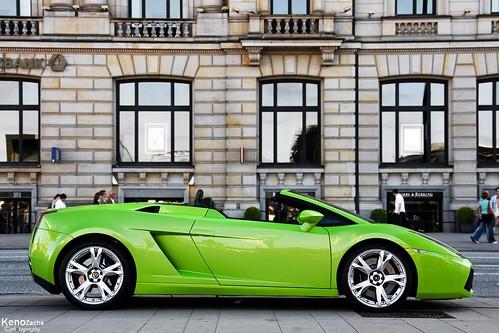 Lamborghini Gallardo Spyder in