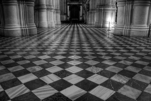 Cathedral floor. Granada. Suelo de la catedral