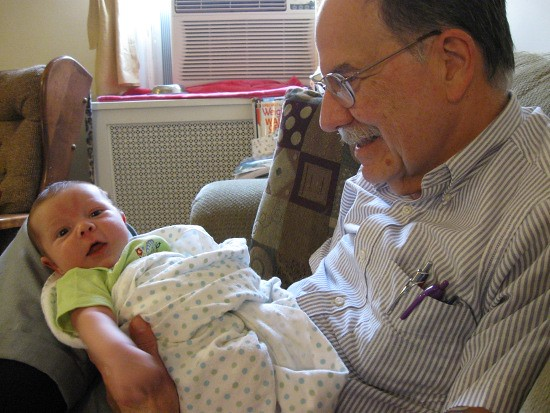 Overjoyed to Meet Granddad