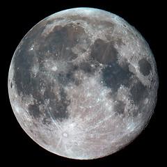 Moon   6/27/10  4:55UT (zAmb0ni) Tags: sky moon night canon stars solar system telescope astrophotography astronomy celestron xsi 450d