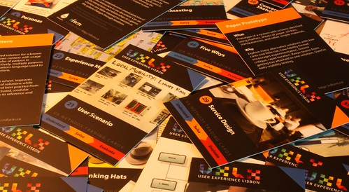 UX Methods Trading Cards from UX LX 2010