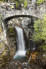 Christine Falls (Byron O'Neal) Tags: bridge usa waterfall washington nationalpark unitedstates rainier rainiernationalpark piercecounty christinefalls singhray benrotripod singhrayvarind