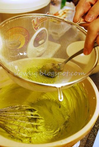Green Tea Butter Cream