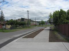 A new sidewalk in Seattle, WA. Photo: Seattle DOT