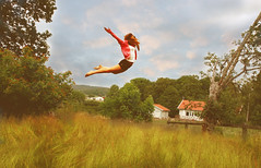 I can fly (sebastianlindn) Tags: girl canon flying sweden floating gravity float mikaela gravitation 1000d lindn