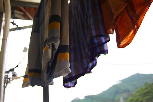 hanging kain pelekat(s)