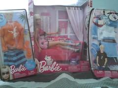 Today's Purchases (6/30/10) (Harpie_Quin22) Tags: pink ken barbie blonde mattel barbiefashion barbiefurniture kenfashion blondeartist22