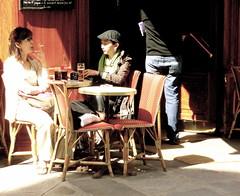 Au caf (Pegasus & Co) Tags: world life street portrait woman inspiration sexy girl beautiful beauty lady composition legs lumire candid femme beaut belle instant jolie monde rue extrieur rues beau ville insolite jambes mouvement vie visage fminin urbain streetshot femininity fminit fugace